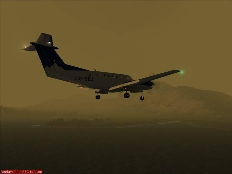 FS9 - TROMSO - HASVIK.aproximação fechada.. incrivel Sinistro x Beleza em um voo .... Foto-2008-aug-3-033
