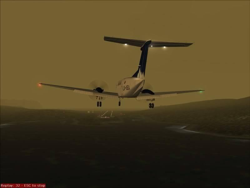 FS9 - TROMSO - HASVIK.aproximação fechada.. incrivel Sinistro x Beleza em um voo .... Foto-2008-aug-3-034