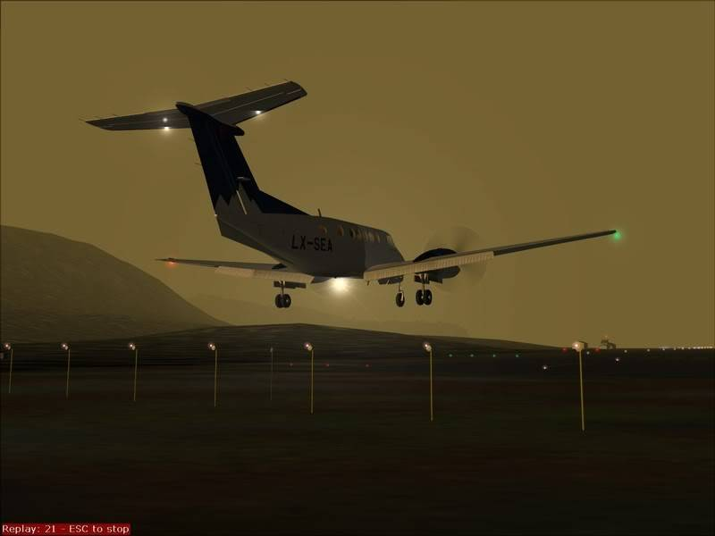 FS9 - TROMSO - HASVIK.aproximação fechada.. incrivel Sinistro x Beleza em um voo .... Foto-2008-aug-3-036
