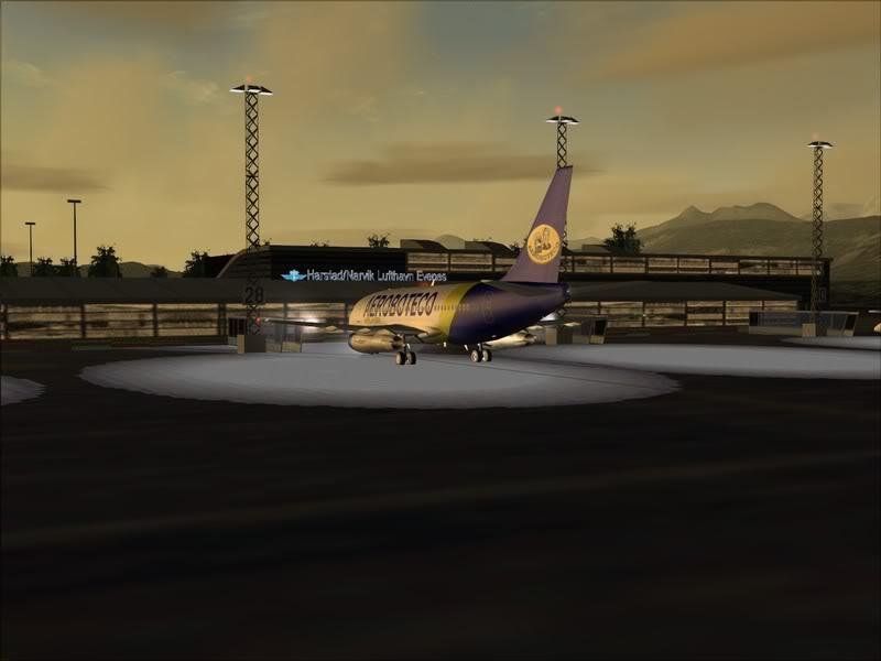 FS9 -NARVIK - THOMSO.....um lindo final de tarde,de 737-200... matando saudades... Foto-2008-jul-30-003
