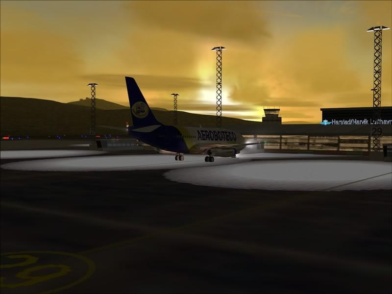 FS9 -NARVIK - THOMSO.....um lindo final de tarde,de 737-200... matando saudades... Foto-2008-jul-30-004