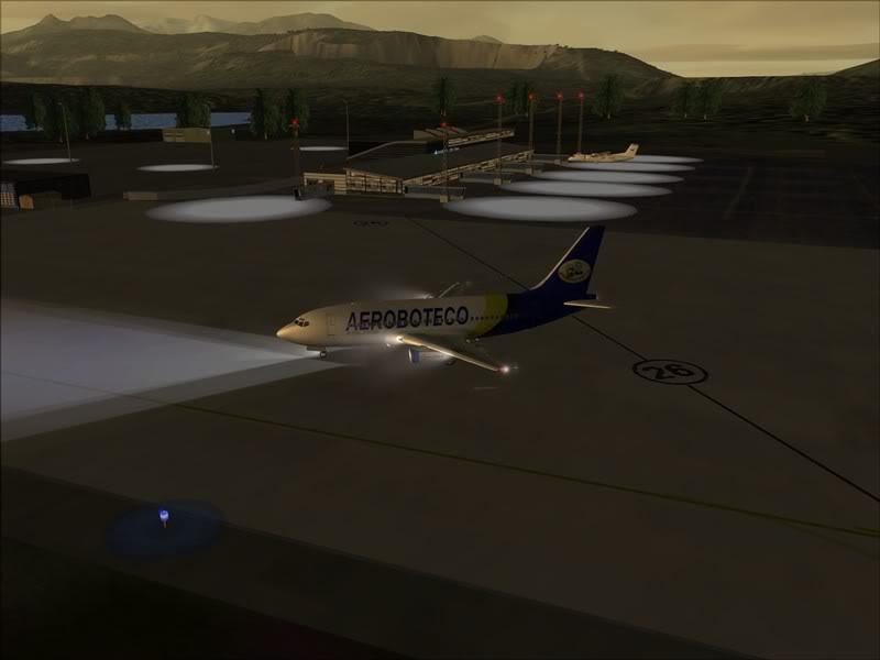 FS9 -NARVIK - THOMSO.....um lindo final de tarde,de 737-200... matando saudades... Foto-2008-jul-30-005