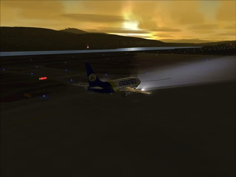 FS9 -NARVIK - THOMSO.....um lindo final de tarde,de 737-200... matando saudades... Foto-2008-jul-30-007