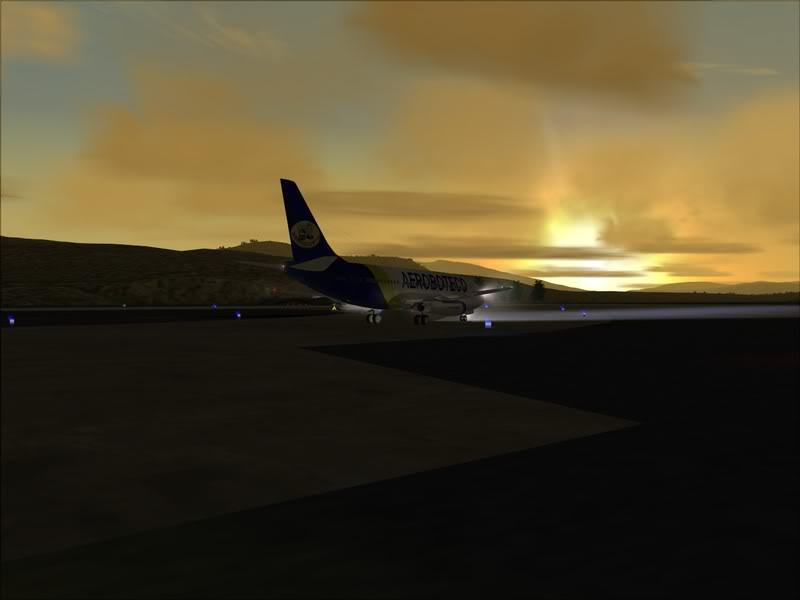 FS9 -NARVIK - THOMSO.....um lindo final de tarde,de 737-200... matando saudades... Foto-2008-jul-30-008