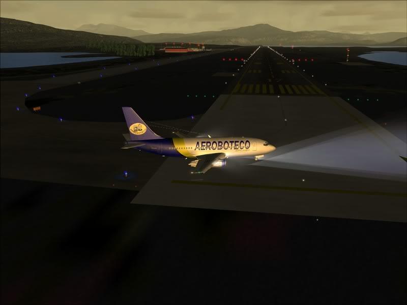 FS9 -NARVIK - THOMSO.....um lindo final de tarde,de 737-200... matando saudades... Foto-2008-jul-30-009
