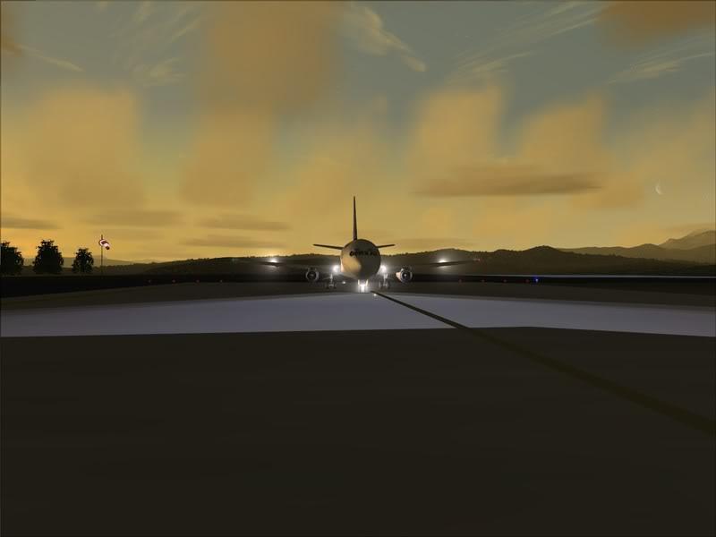 FS9 -NARVIK - THOMSO.....um lindo final de tarde,de 737-200... matando saudades... Foto-2008-jul-30-011