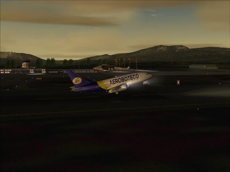 FS9 -NARVIK - THOMSO.....um lindo final de tarde,de 737-200... matando saudades... Foto-2008-jul-30-012