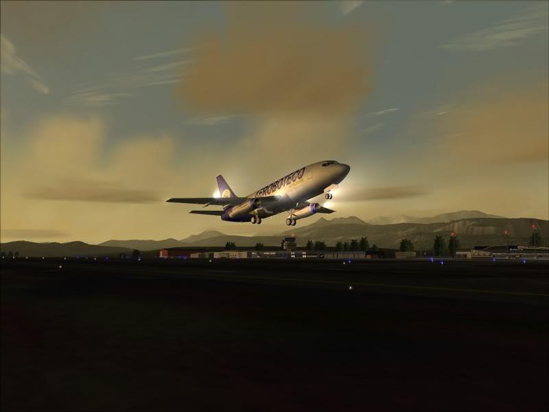 FS9 -NARVIK - THOMSO.....um lindo final de tarde,de 737-200... matando saudades... Foto-2008-jul-30-013