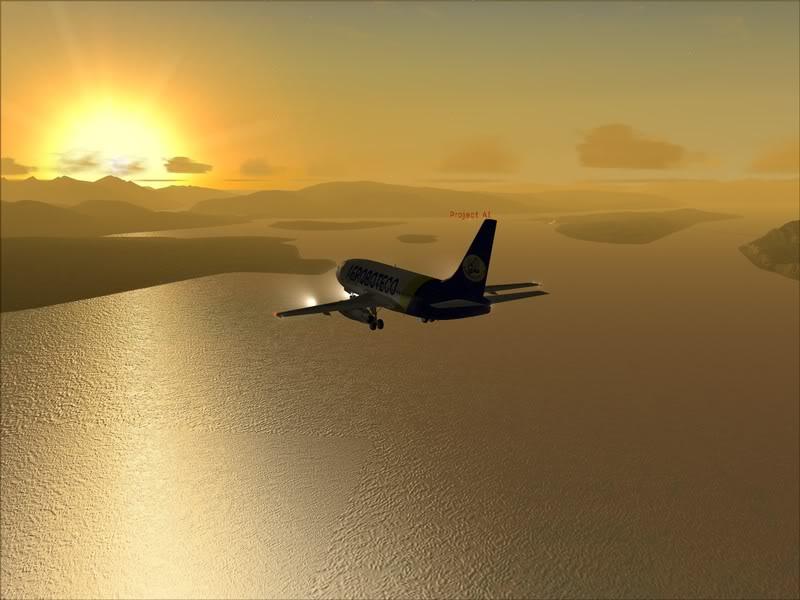 FS9 -NARVIK - THOMSO.....um lindo final de tarde,de 737-200... matando saudades... Foto-2008-jul-30-022
