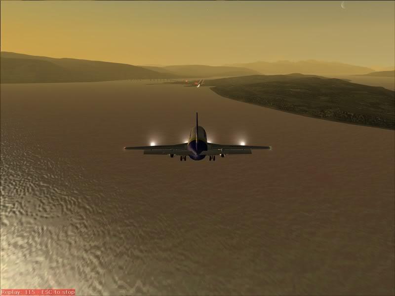 FS9 -NARVIK - THOMSO.....um lindo final de tarde,de 737-200... matando saudades... Foto-2008-jul-30-023
