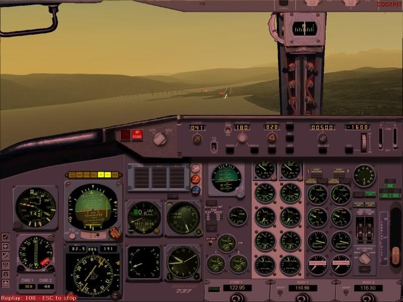FS9 -NARVIK - THOMSO.....um lindo final de tarde,de 737-200... matando saudades... Foto-2008-jul-30-024