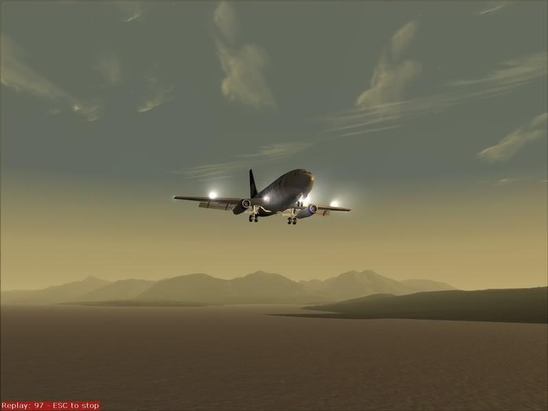 FS9 -NARVIK - THOMSO.....um lindo final de tarde,de 737-200... matando saudades... Foto-2008-jul-30-025