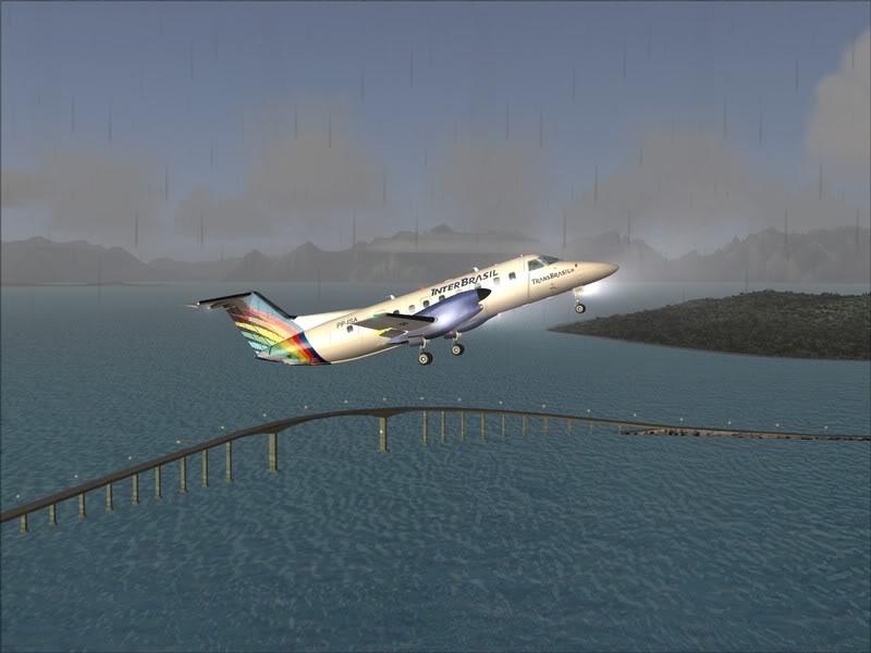 FS9 - Stokmarkenes - Narvik... com EMB120,Transbrasil, matando saudades.... Foto-2008-jul-9-008