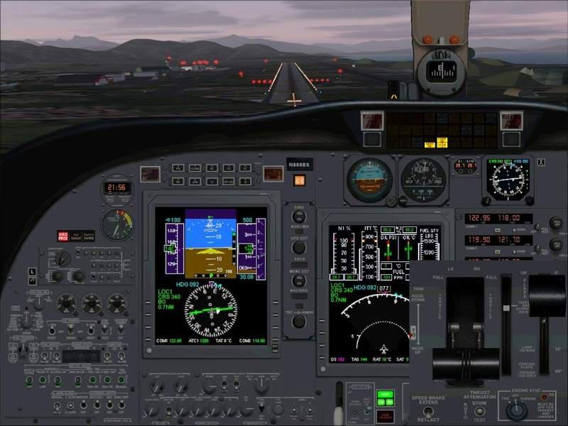 Momentos finais para pouso em BODO...,mais um lindo Aeroporto... Foto-2008-jun-22-039
