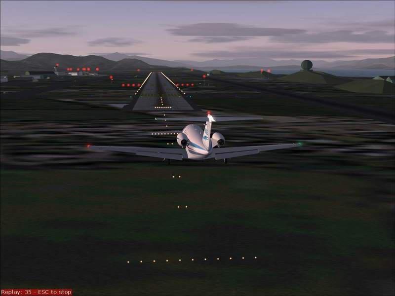 Momentos finais para pouso em BODO...,mais um lindo Aeroporto... Foto-2008-jun-22-043