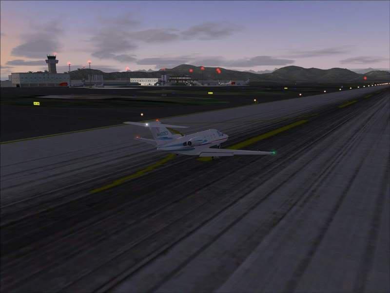 Momentos finais para pouso em BODO...,mais um lindo Aeroporto... Foto-2008-jun-22-053