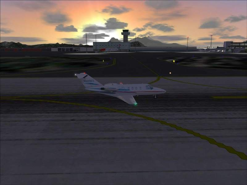Momentos finais para pouso em BODO...,mais um lindo Aeroporto... Foto-2008-jun-22-054