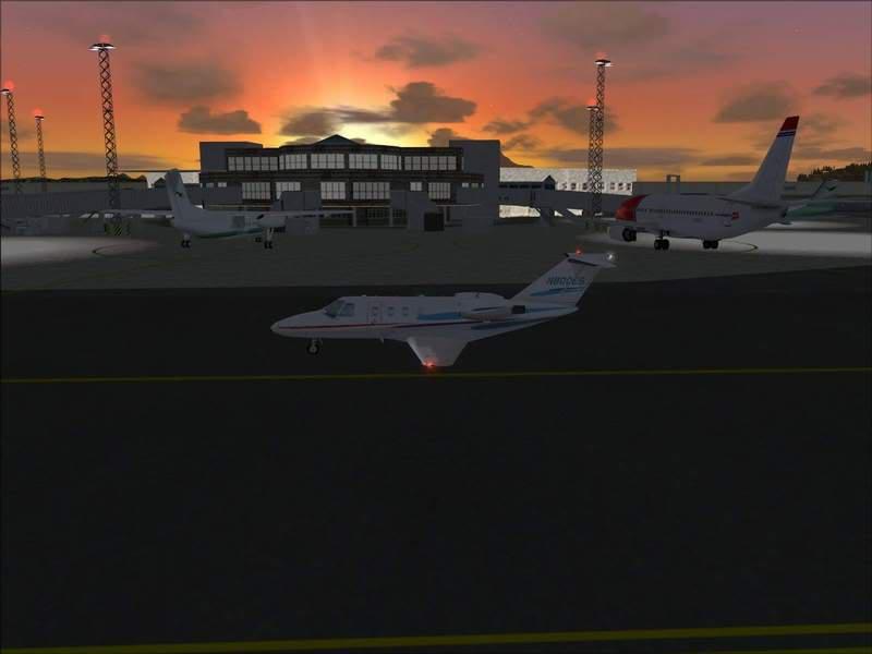 Momentos finais para pouso em BODO...,mais um lindo Aeroporto... Foto-2008-jun-22-058