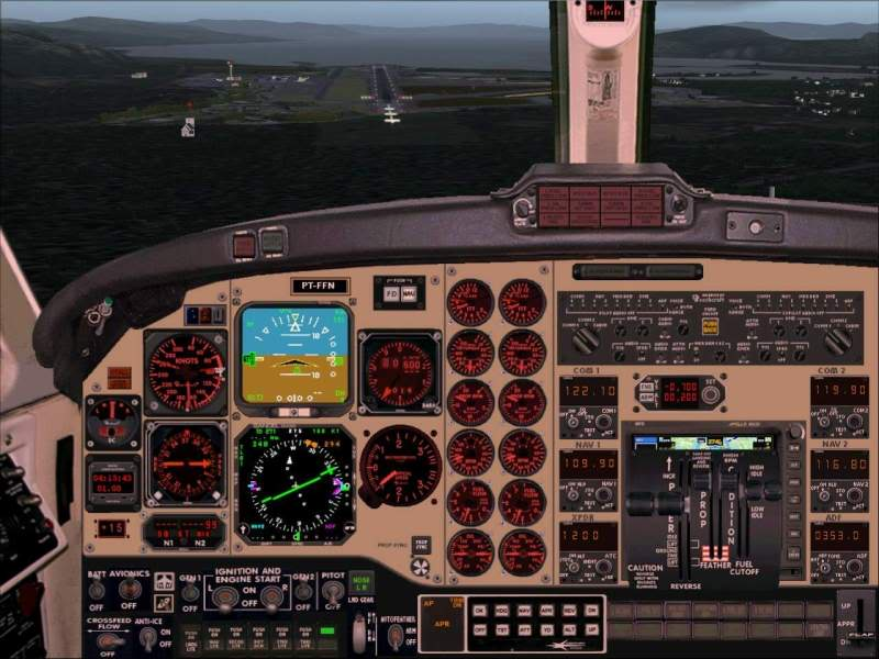 Aproximação Trondheim...um lindo Aeroporto Foto-2008-may-23-024