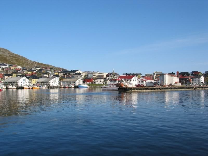 Hammerfest - Honningsvag...encontrando uma linda cidade Honningsvag1