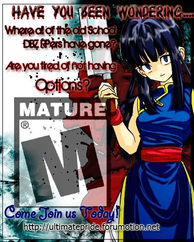Advertisement - Ultimate Pride RPG Ultimatepride