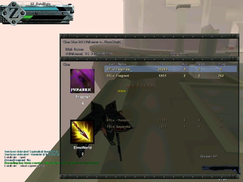 """I'm a Noob SS ROFLCOPTER """"Bomb"""" well sort off bluekk :P Gunz066-1"""