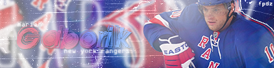 New York Rangers . Gabo