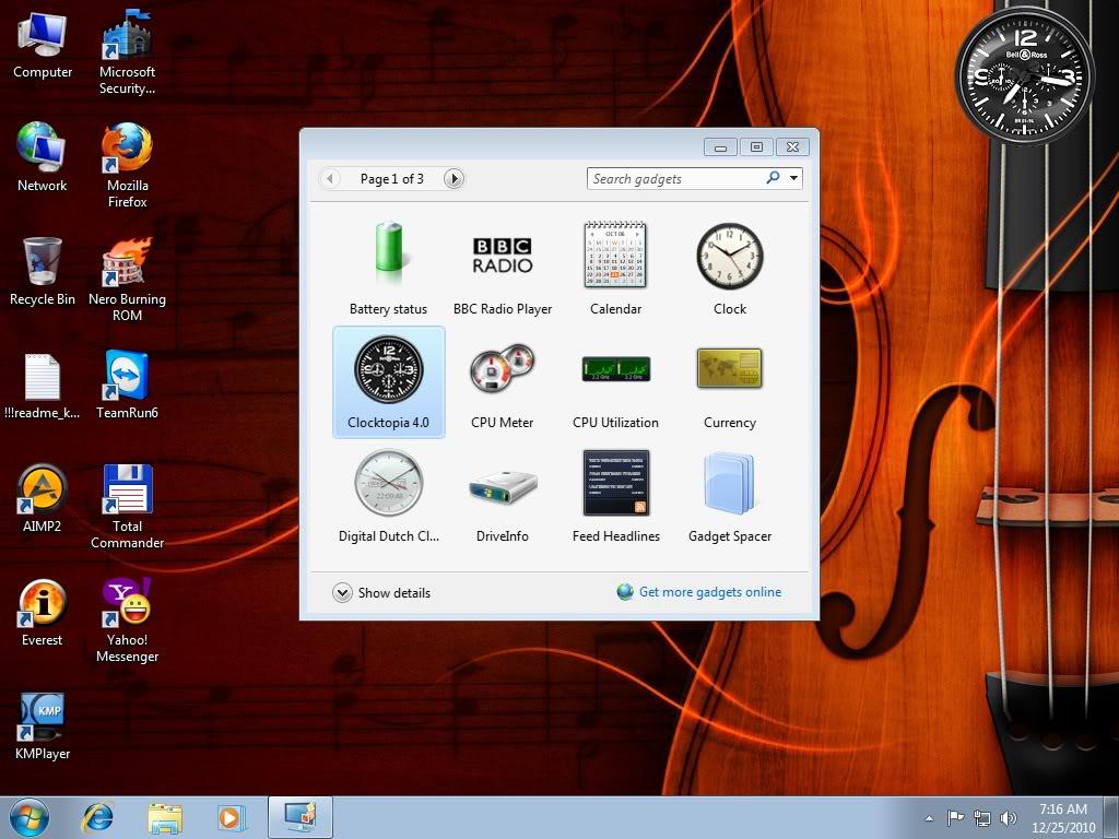 Windows7 Ultimate firekeeper x86 6