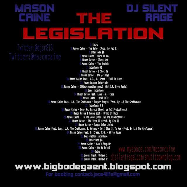Mason Caine & DJ Silent Rage Present: The Legislation DJSILENTRAGEMASONCAINE-LEGISLATIONM