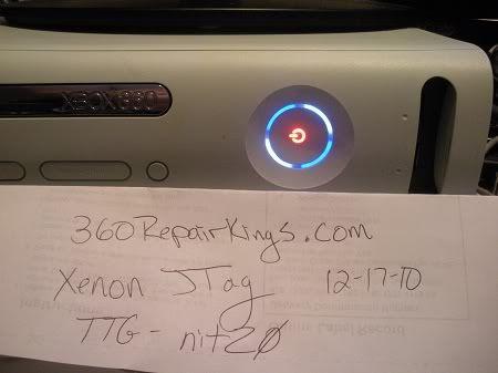 MY FRIEND IS SELLING A JTAG XENON his namis xbox360 repair king Xenon1