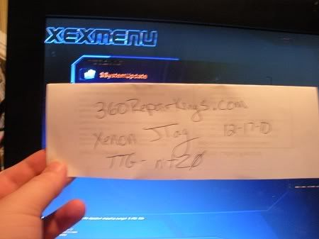 MY FRIEND IS SELLING A JTAG XENON his namis xbox360 repair king Xenon2