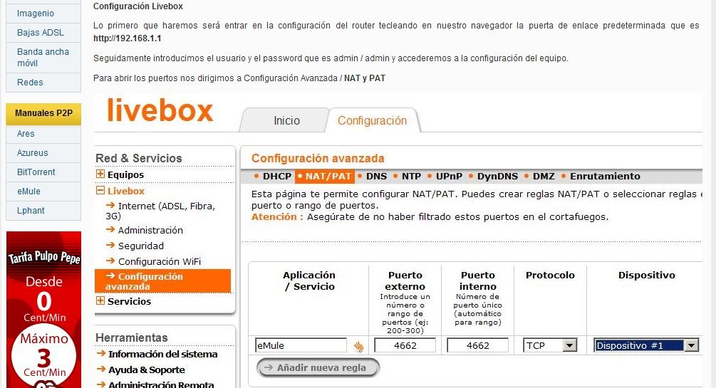 Sistemas de descarga: e-mule, torrent... Puertosemule_zps7fd7afdf