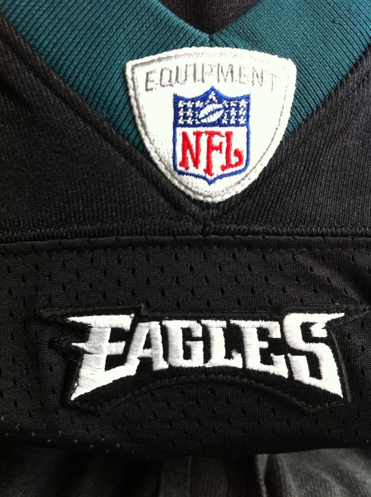 Bought 3 eagles jerseys on ebay, any fake? Photo