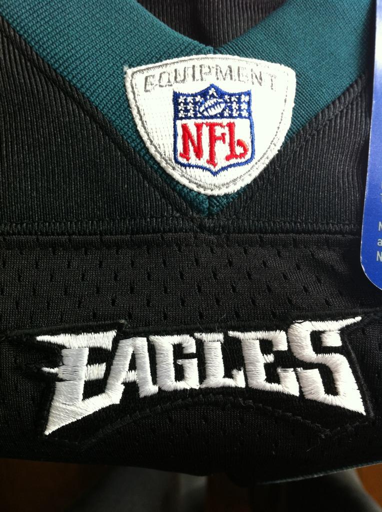 Bought 3 eagles jerseys on ebay, any fake? Photo1