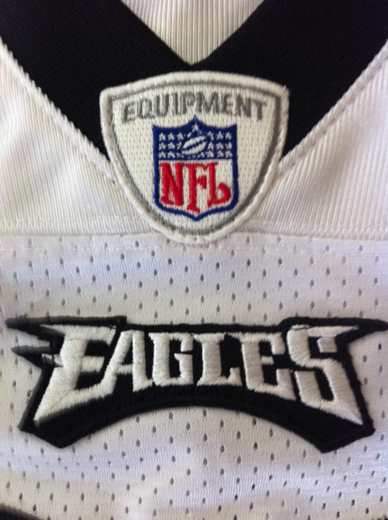 Bought 3 eagles jerseys on ebay, any fake? Photo8