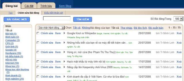 Thủ thuật Blogger: Đặt tên trang lưu entry bằng tiếng Việt không dấu Kiemtravaxoabaicuneuco
