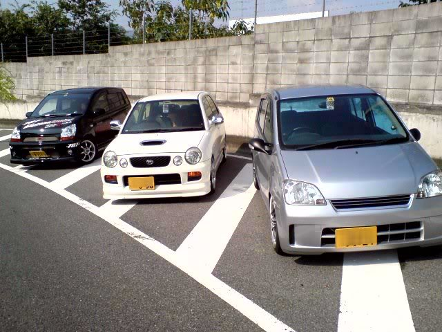 Daihatsu Mira and their Related Siblings 27