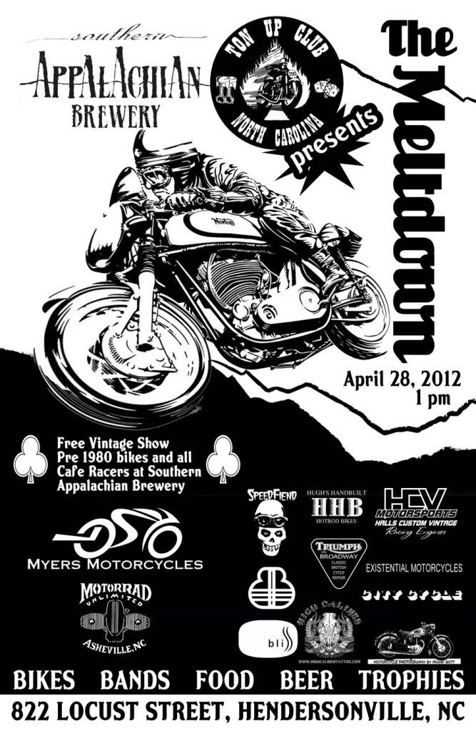 NC Ton-Up Event on Appalachian Brewery April 28th FinalMotorcyclePosterweb