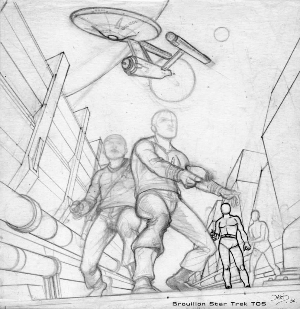 Fanfilm animé sur l'Enterprise - Page 5 Brouillon