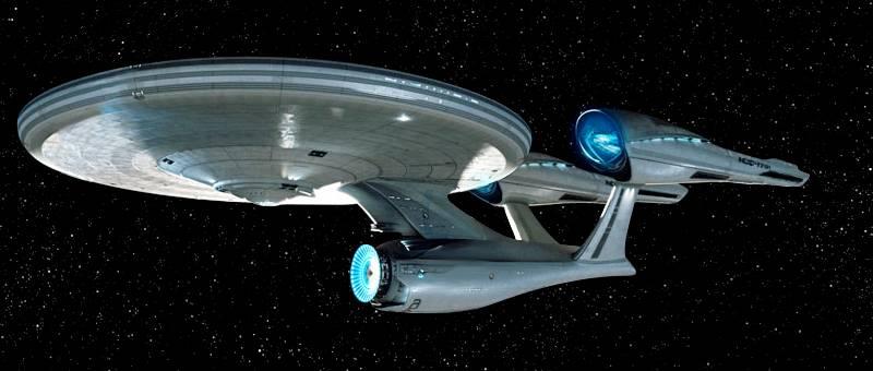 1ère photo officielle de l'USS Enterprise NCC-1701 - Page 2 Enterpriserefit