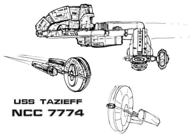 Lois et règles de design des vaisseaux de ST - Page 8 USSTazieff