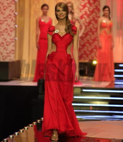EDITA KRESAKOVA - Miss Slovakia World 2008 Edita-Kresakova-missforza08-ncw