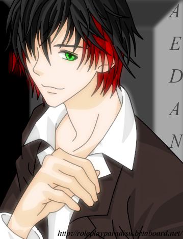 My Roleplay Characters Aedan-Suzakuhighschool