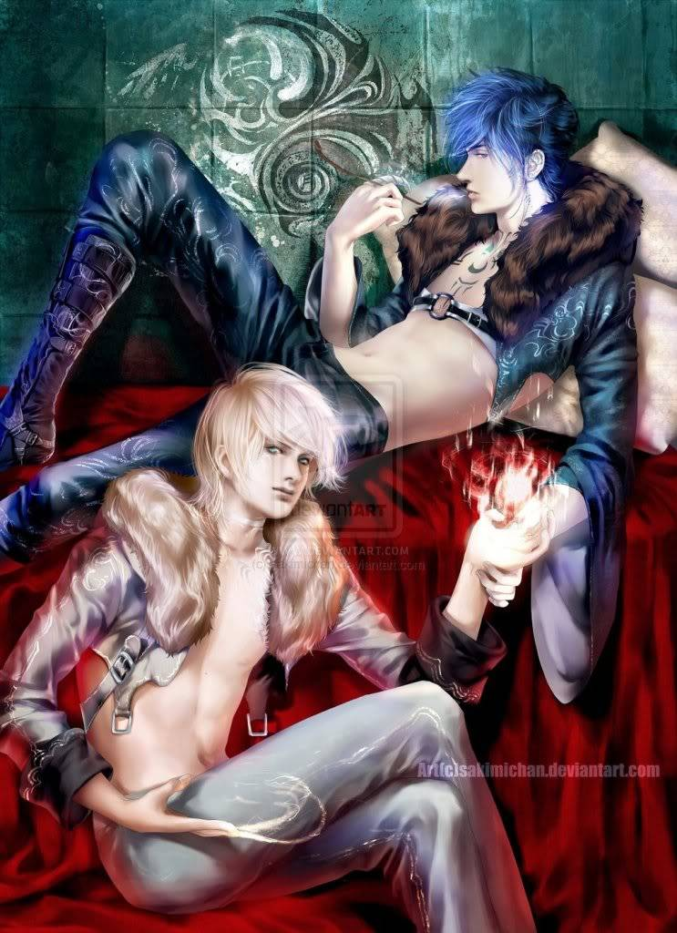 LAM Y NEIB _Yin_Yang_Brothers__by_sakimichan