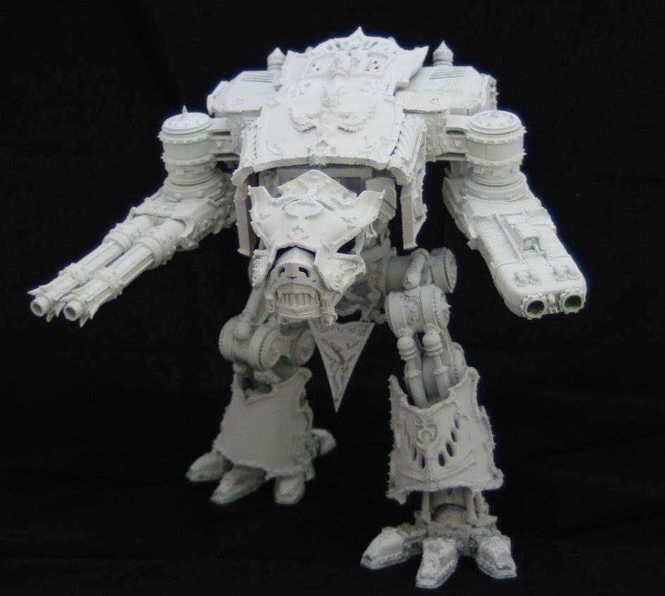GW vs imprimantes 3D ChaosWarhoundOne