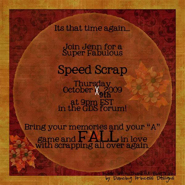 Did I hear Speed Scrap? SSad-Oct08