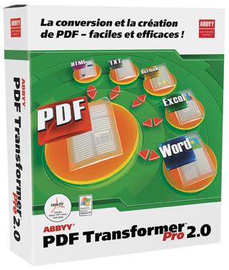 ABBYY Pdf Transformer 2.0 36