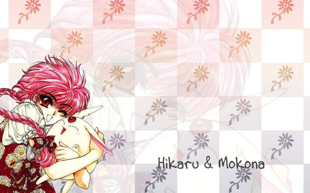 Imagenes de Magic Knight Rayearth. Hikaru__Mokona_20249_1280x800theAni