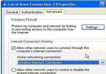 Biến Laptop thành 1 access point A