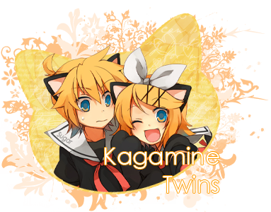 Concurso de Assinaturas #6 Kagamine-twins